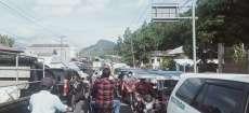 Pembuatan Box Culvert di Jalinsum Tano Ponggol Akibatkan Macet